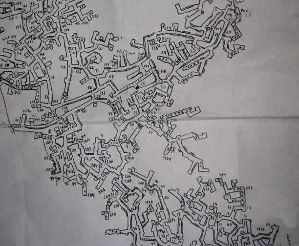План катакомб.