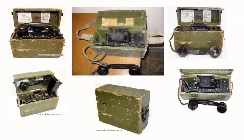 """Собран по  """"противоместной """" схеме.  ТАИ-43 относился к классу полевых телефонов системы МБ (с местной, т.е. внутренней..."""